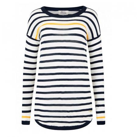 Dubarry Abbeyside Sweater in White Multi