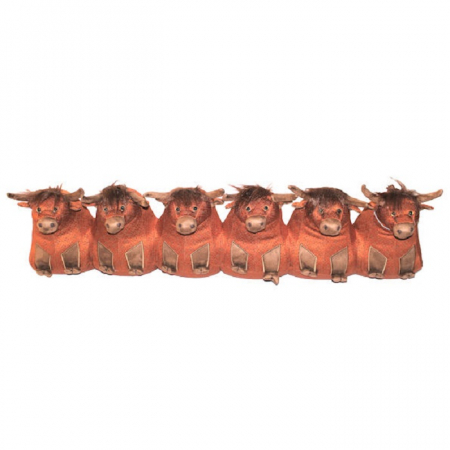 Dora Designs Catriona Highland Cow- Draught Excluder