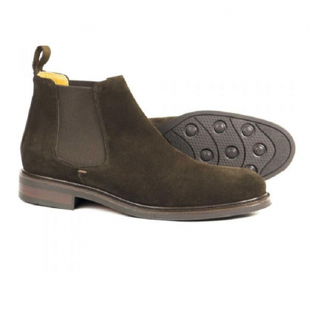 Orca Bay Chalfont Chelsea Boots in Chocolate