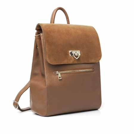 Fairfax & Favor Loxley Backpack in Tan