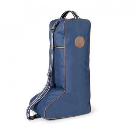 Bridleway Long Boot Bag Navy