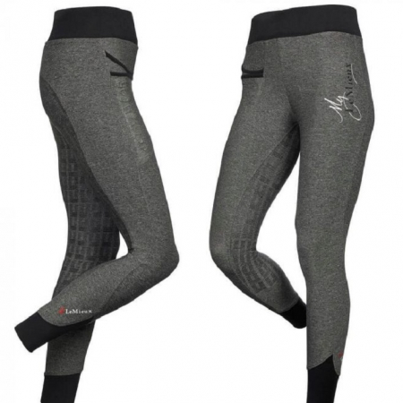 LeMieux ActiveWear Pull On Breeches in Grey