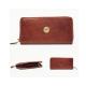 Hicks & Hides Zip around purse