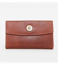 Hicks & Hides Hidcote Cartridge Purse Cognac