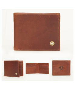 Hicks & Hides Rifle Wallet Cognac