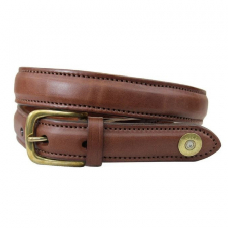 Hicks & Hides Stow Field Belt Cognac