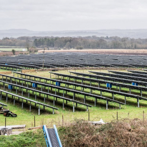 Solar Park at Wadswick Country Store - Green Initiatives