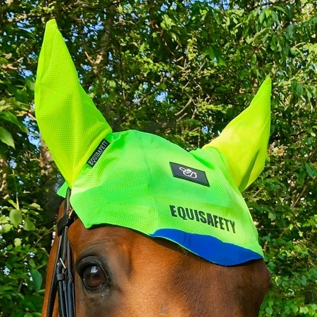 Equisafety Charlotte Dujardin Multi-Colour Mesh Horse Ears ...