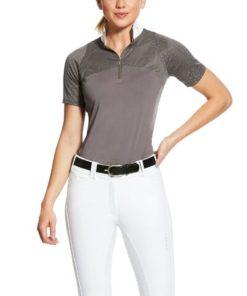 Ariat Airway Show Shirt - Plum Grey