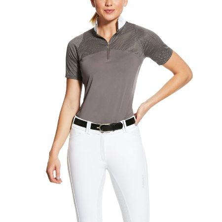 Ariat Airway Show Shirt - Plum Grey