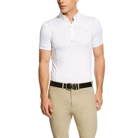 Ariat Men's Tek Show Shirt - White