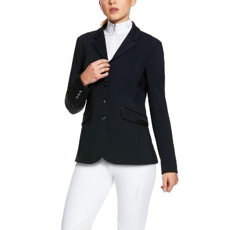 Ariat Mercury Showtek Show Coat - Show Navy