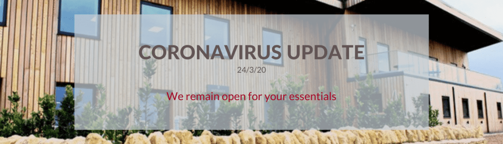 Wadswick Country Store Coronavirus update 24th March 2020