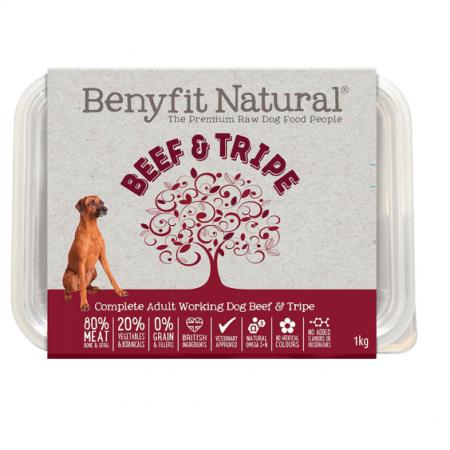 BEEF & TRIPE BENYFIT NATURAL