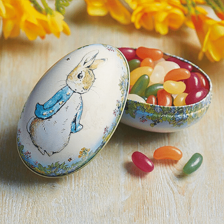Peter Rabbit Jelly Bean filled Tin